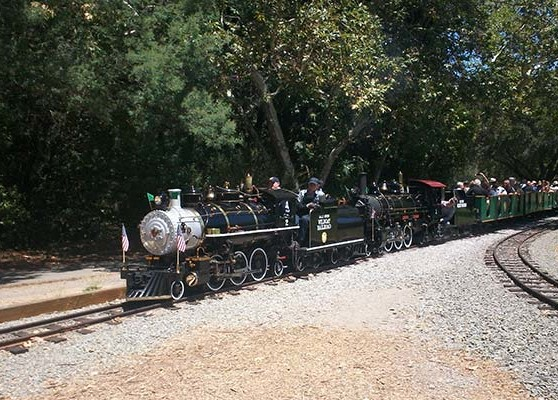 Riding on the Billy Jones Wildcat Railroad