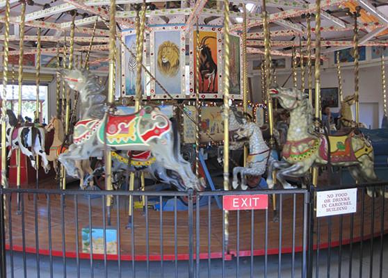 BJWRR Restored Carousel