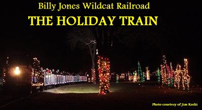 Holiday Train @ Billy Jones Wildcat Railroad
