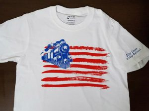 BJWRR Flag T-Shirt; Limited Availability