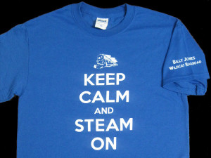 BJWRR's Keep Calm and Steam On T-Shirt