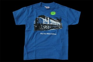 Blue Diesel T-Shirt - Glows in the Dark