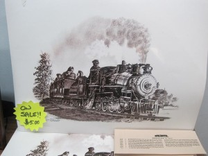 BJWRR Wildcat Engine No. 2 Train Poster