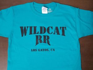 BJWRR Wildcat RR T-Shirt, Teal Color Only