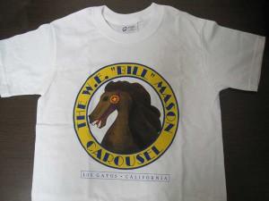 """W.E """"Bill"""" Mason Carousel T-Shirt"""