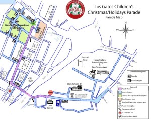 The Los Gatos Children's Holiday Parade